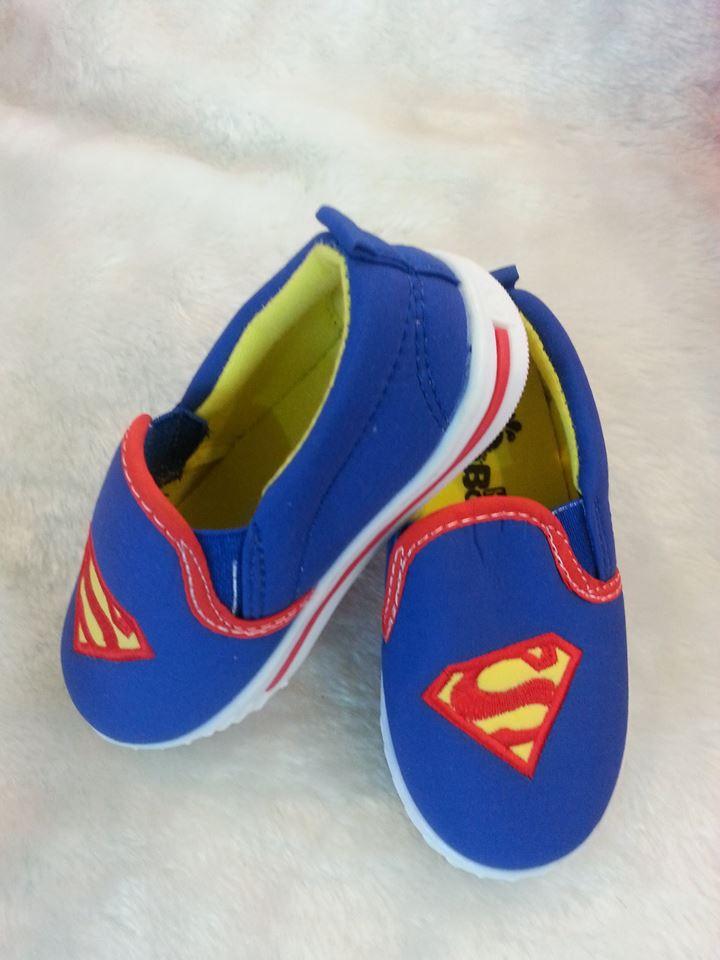 รองเท้าเด็ก ลาย Superman size : 29