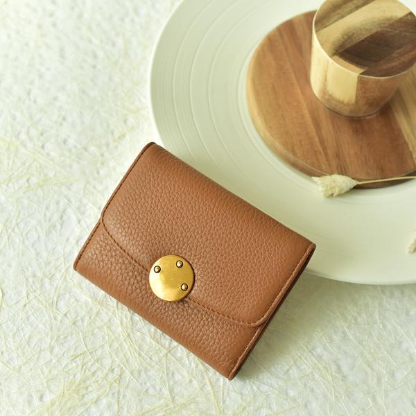 กระเป๋าสตางค์ หนังวัว รุ่น Berry wallet (Brown)