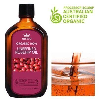 ++พร้อมส่ง++Medi-Peel Missco Unrefined Rosehip oil 100ml น้ำมันสกัดบริสุทธิ์โรสฮิปออแกนิคส์ 100%