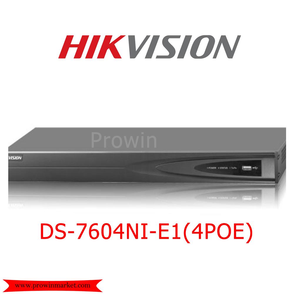 HIKVISION DS-7604NI-E1 (4POE)