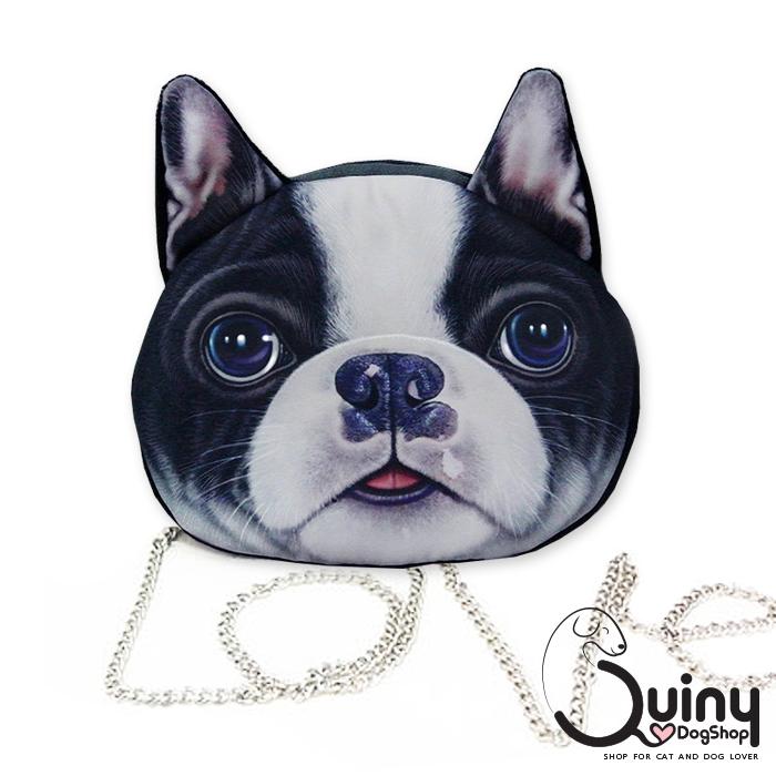กระเป๋าหน้าหมา เฟรนซ์บูลด็อก สายโซ่
