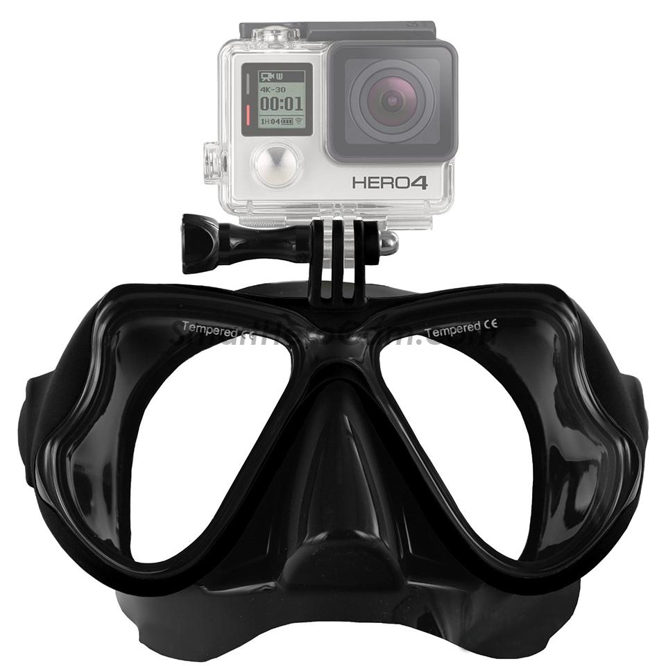 หน้ากากดำน้ำ Freewell Diving Mask 1403 [ดำ] (Sea Travel)