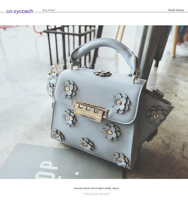 กระเป๋าหนัง PU รุ่น Flower Glad