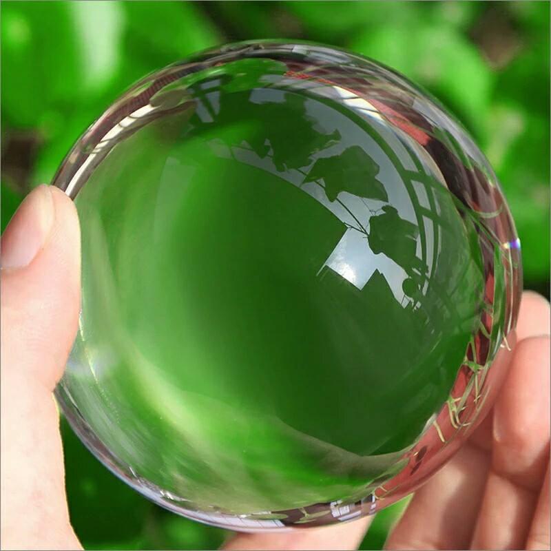 ลูกแก้วใส หลากสี ใหญ่ Glass ขนาด 8 ซม. รับประกัน แตก เปลี่ยนให้ใหม่