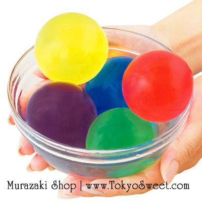 พร้อมส่ง ** Big Size Color Water Expanding Balls เม็ดบอลแช่น้ำแล้วพองตัว ไซส์ใหญ่ *เป็นของเล่น ทานไม่ได้*
