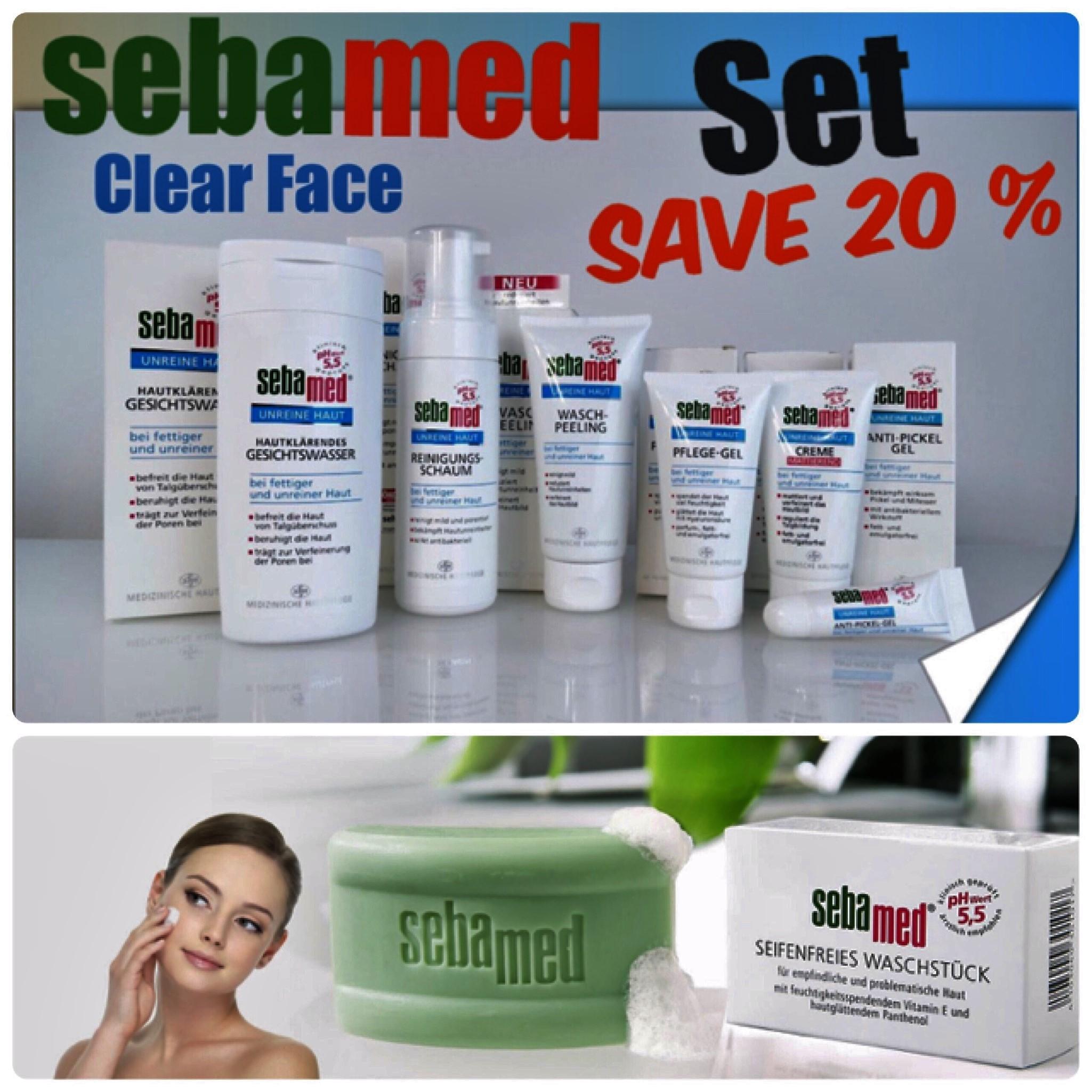 Sebamed Clear Face SET รักษาสิว