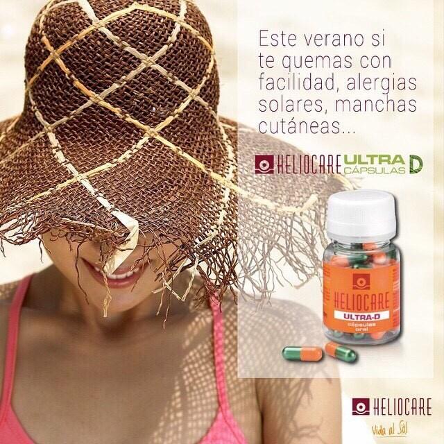 Heliocare Urtra-D Capsulas Oral สินค้าตัวใหม่ กันแดด 2 เท่า วิตามินกันแดด บรรจุ 30 เม็ด