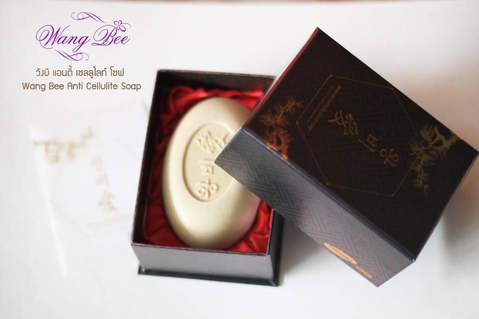 Wang Bee Anti Cellulite Soap Red วังบี แอนตี้ เซลลูไลท์ โซฟ 132g