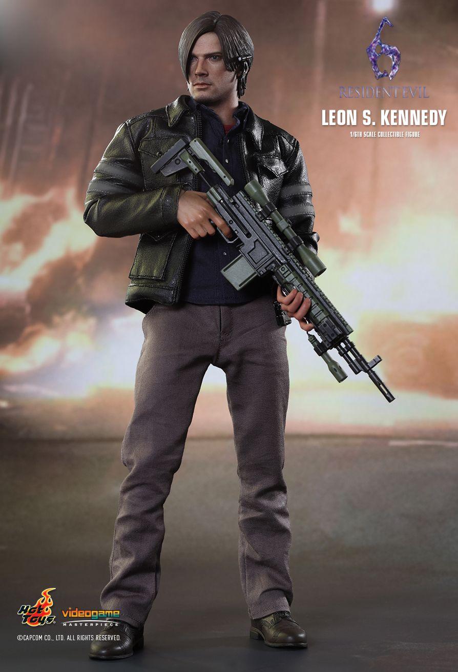Hot Toys VGM22 RESIDENT EVIL 6 - LEON S. KENNEDY