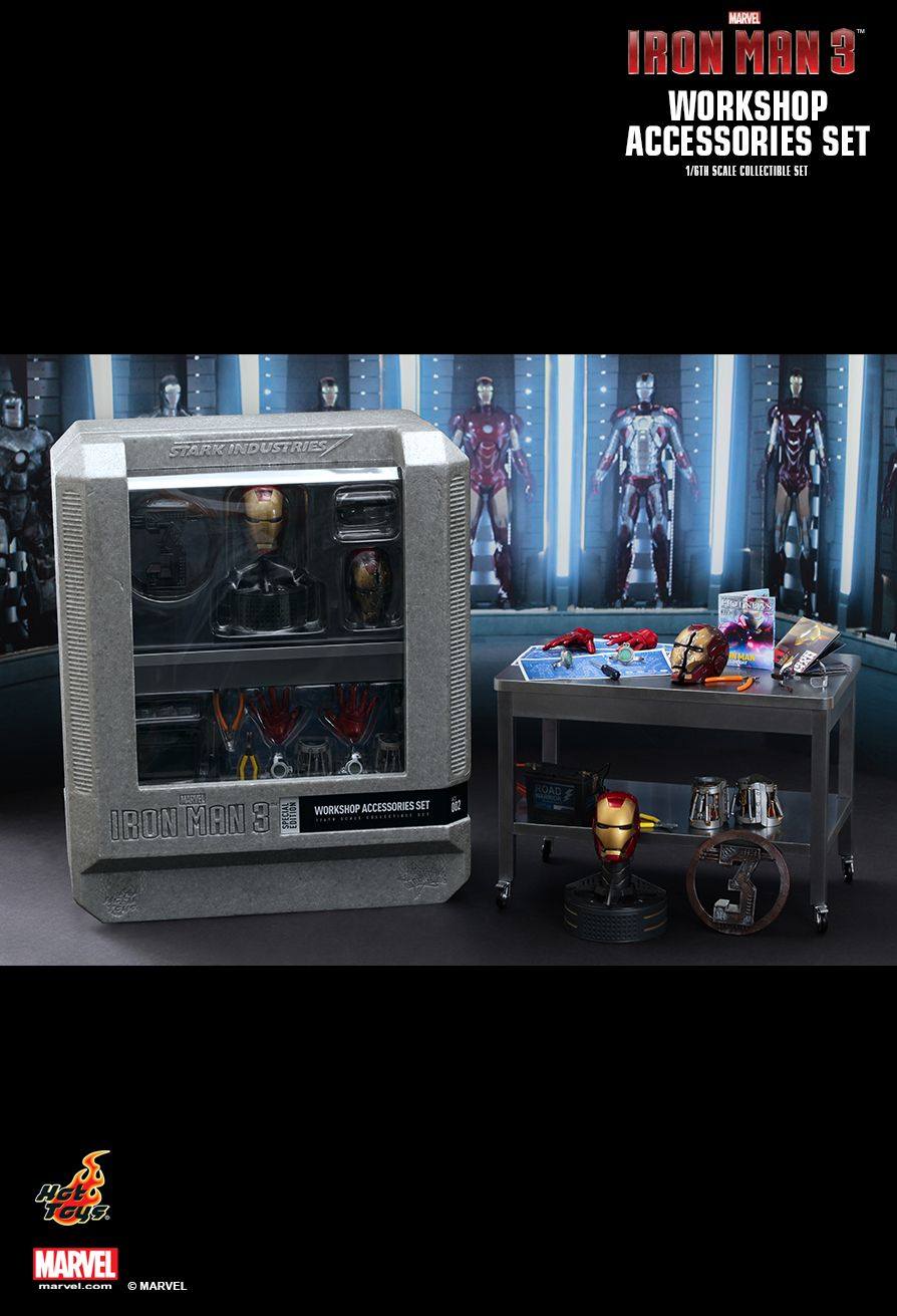 Hot Toys ACS002 IRON MAN 3 - WORKSHOP ACCESSORIES