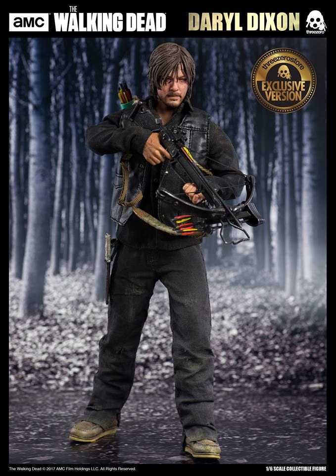 ThreeZero x amc 3Z0021 The Walking Dead - Daryl Dixon