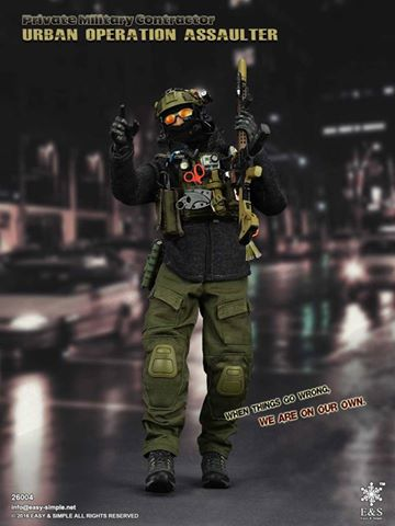 Easy&Simple 26004 PMC Urban Operation Assaulter