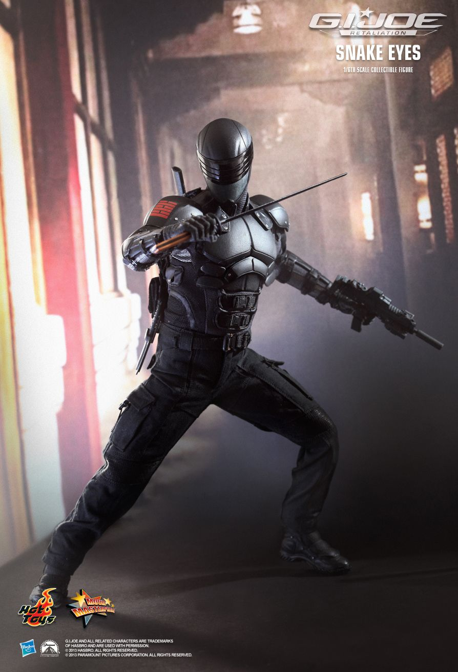 HotToys MMS192 G.I. JOE RETALIATION - SNAKE EYES