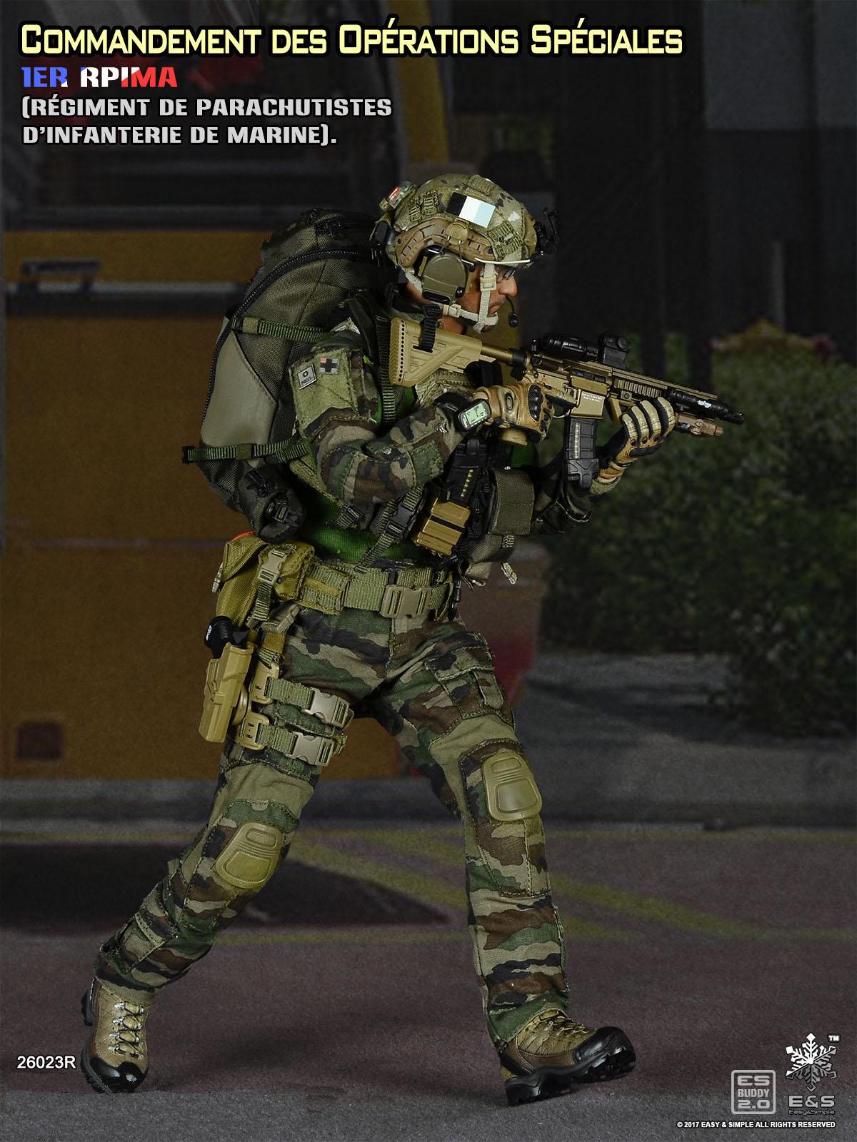 Easy&Simple 26023R Commandement des Opérations Spéciales