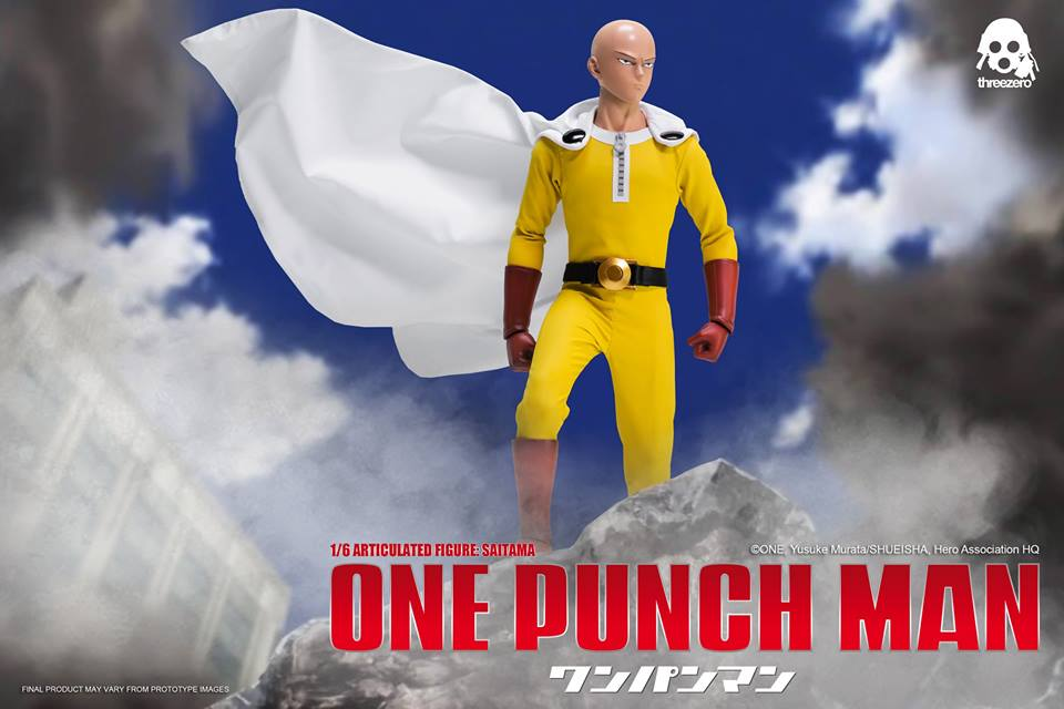 threezero ONE-PUNCH MAN 1/6 SAITAMA (Exclusive)