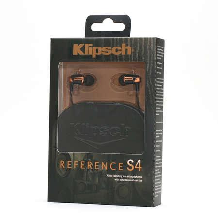 ขาย หูฟัง Klipsch Reference S4 หูฟังระดับพรีเมี่ยม จากผู้ผลิตเครื่องเสียงสัญชาติUSA ผลงานระดับHD