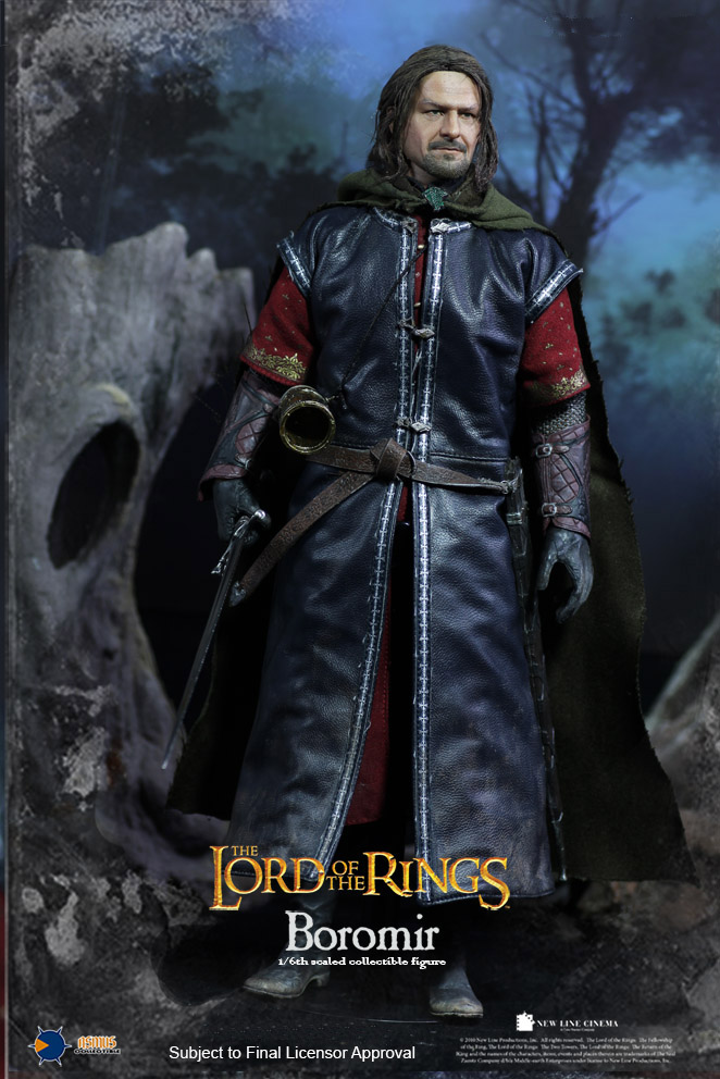 Asmus Toys LOTR017H The Lord of the Rings Series - Boromir (Rooted Hair)