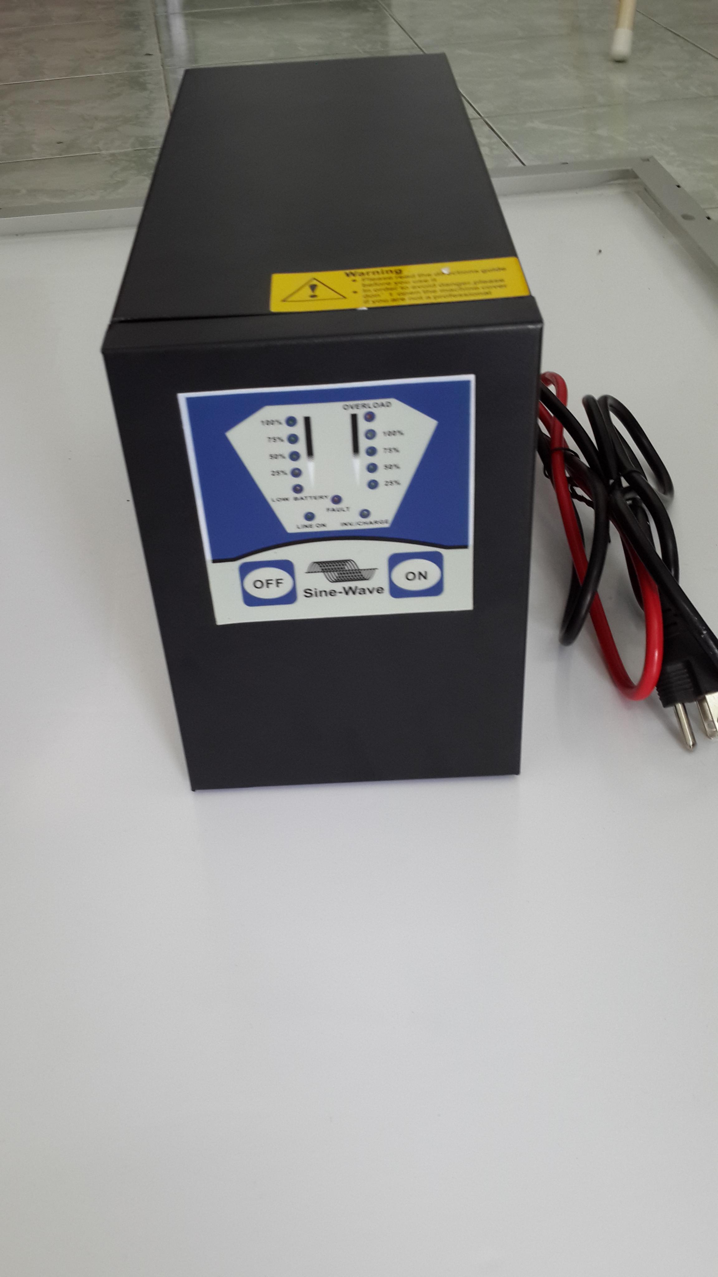 Inverter 1000W/12/220V/50Hz