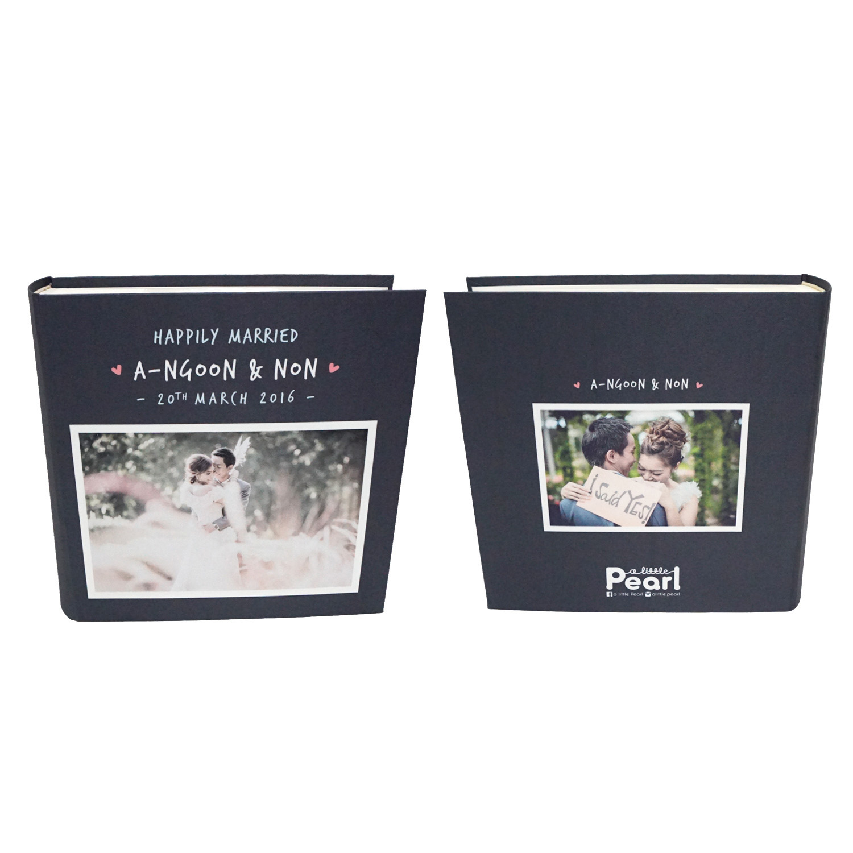 อัลบั้ม 100 รูป (5x7 นิ้ว) Square Frame - สั่งทำใส่รูปถ่าย