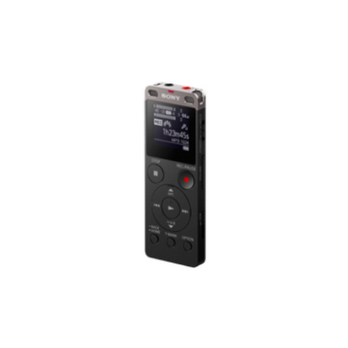 SONY เครื่องบันทึกเสียงหน่วยความจำ 4 GB รุ่น ICD-UX560F สีดำ