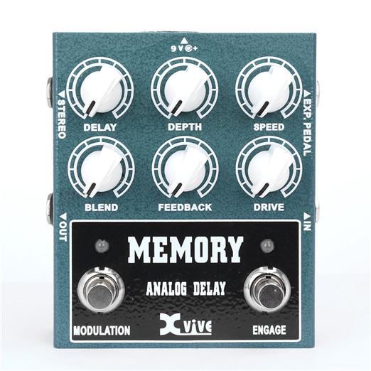 Xvive Effect Memory Analog Delay W3