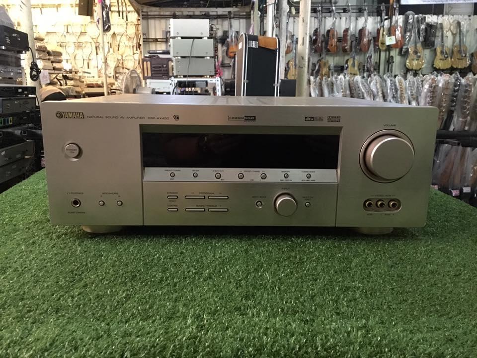เครื่องขยายเสียง Yamaha DSP-AX450