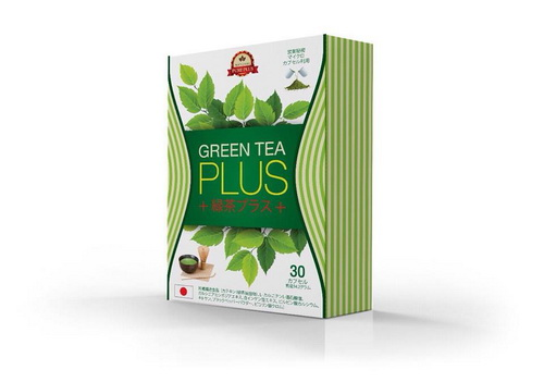 Green Tea Plus กรีน ที พลัส ผอม สวย หุ่นเด้งเป๊ะเวอร์