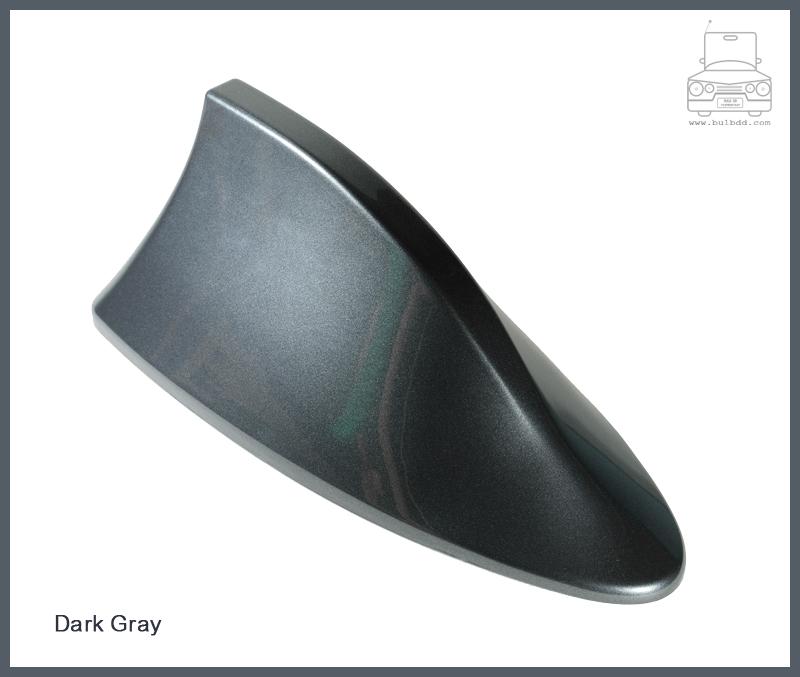 เสาวิทยุครีบฉลาม สีเทาดำ (Dark Gray)