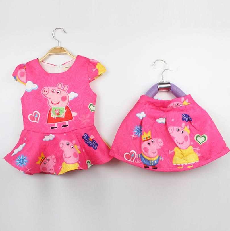 ชุดเด็ก : ชุดเสื้อ pepa+กางเกง