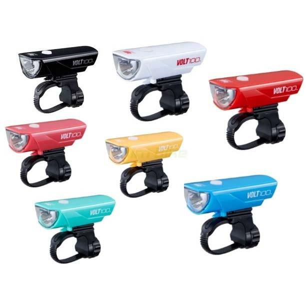 ไฟหน้า CATEYE VOLT-100 HL-EL150RC คละสี แบบ ชาร์จ USB