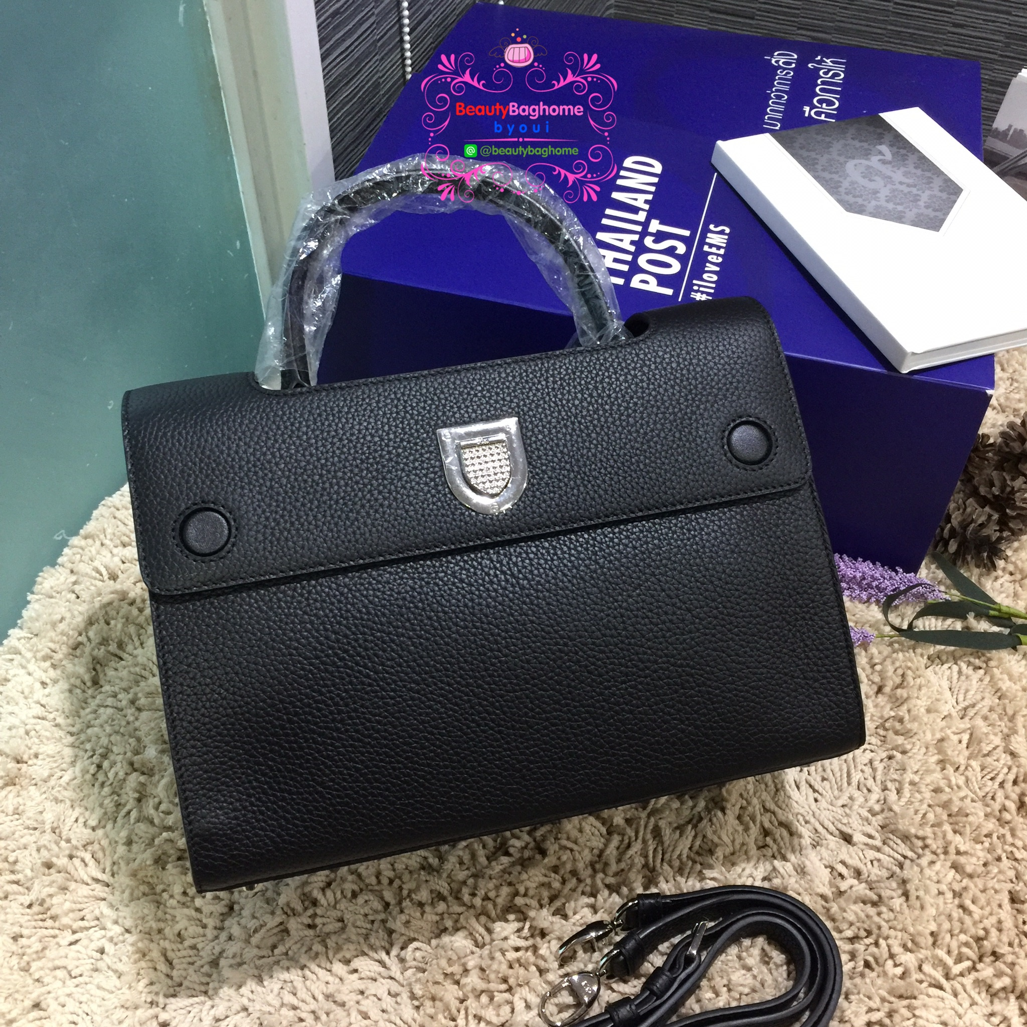 Dior Diorever bag สีดำ งานHiend Original