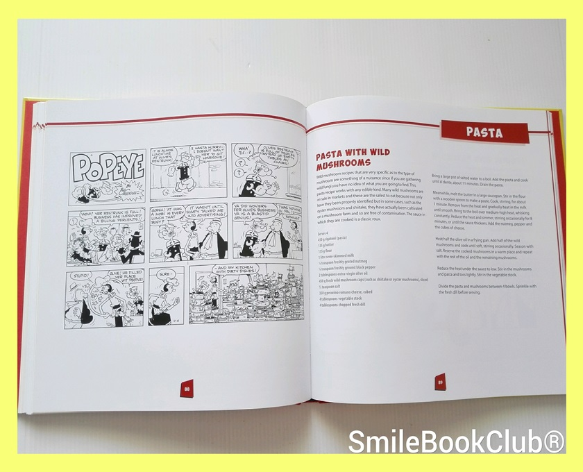 PopEye cook book