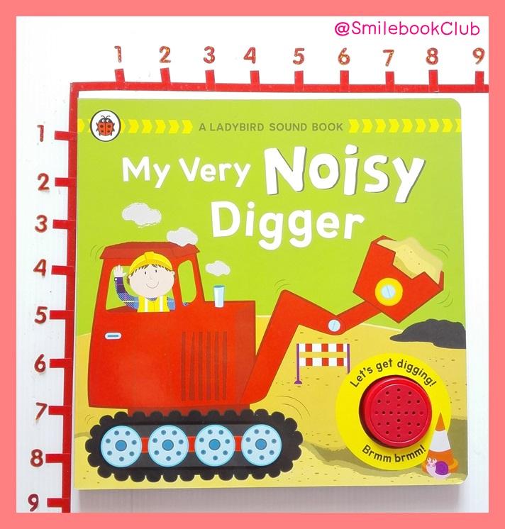 My Very Noisy Digger - Sound Book