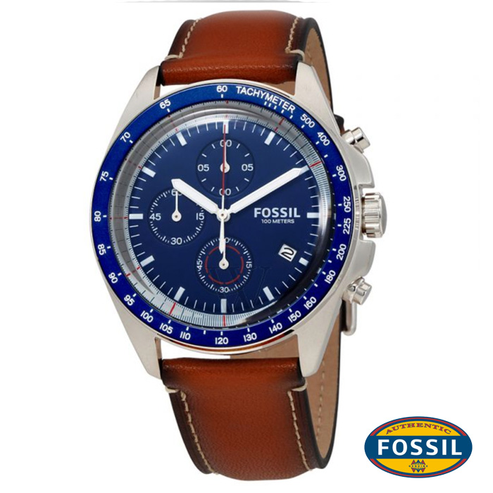 นาฬิกา FOSSIL CH3039 Men Watch Chronograph Leather นาฬิกาสายหนัง Chronograph