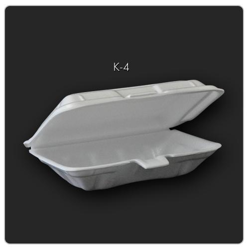 K-4(914) กล่องข้าวก้นจีบ