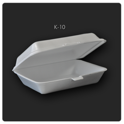 K-10(502) กล่องข้าวใหญ่หรือกล่องเป็ด