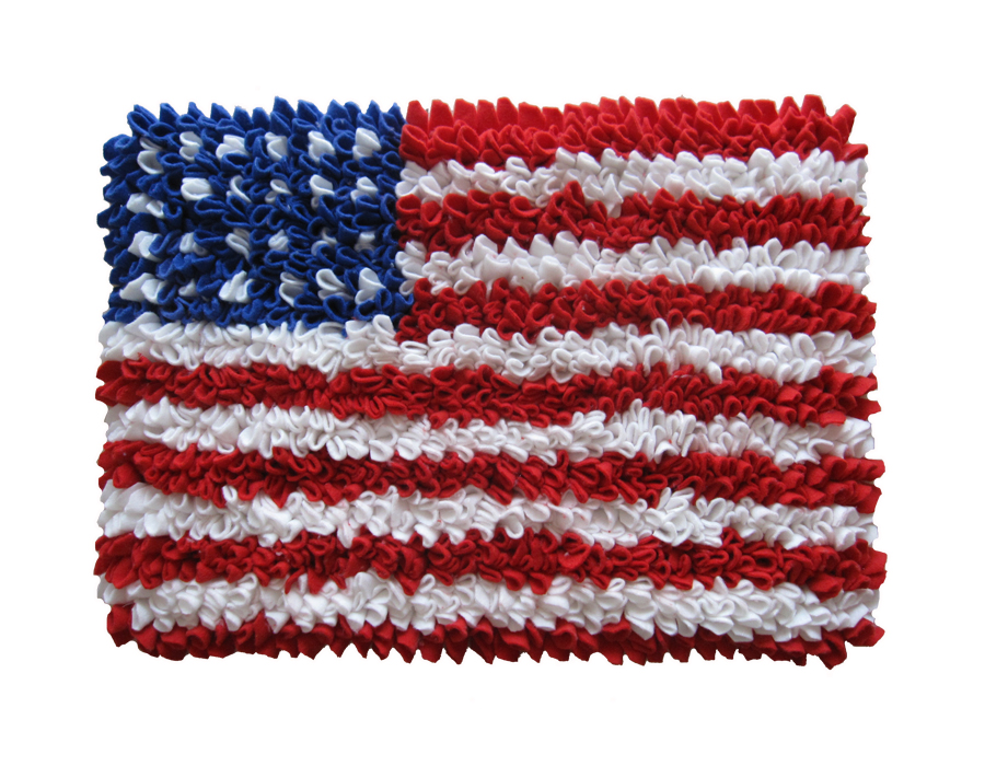 พรมเช็ดเท้า แฟนซี ลาย ธงอเมริกา M