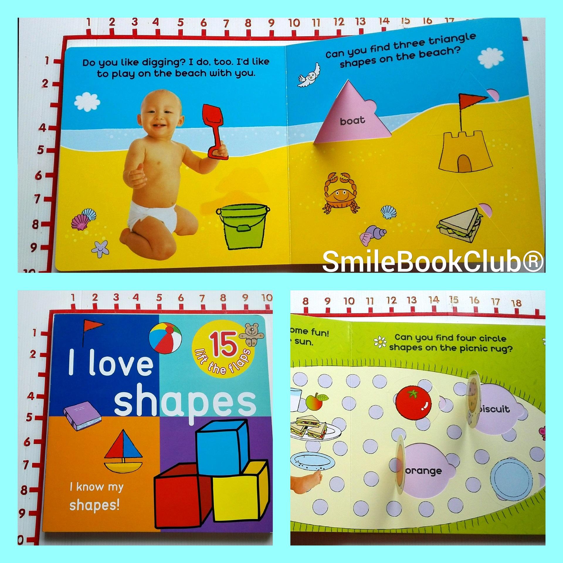 I Love Shapes - Big Lift the Flap Book [Board Book]
