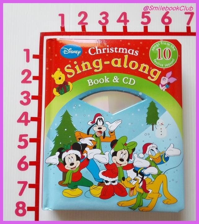 Christmas Sing-along Book & CD : Disney