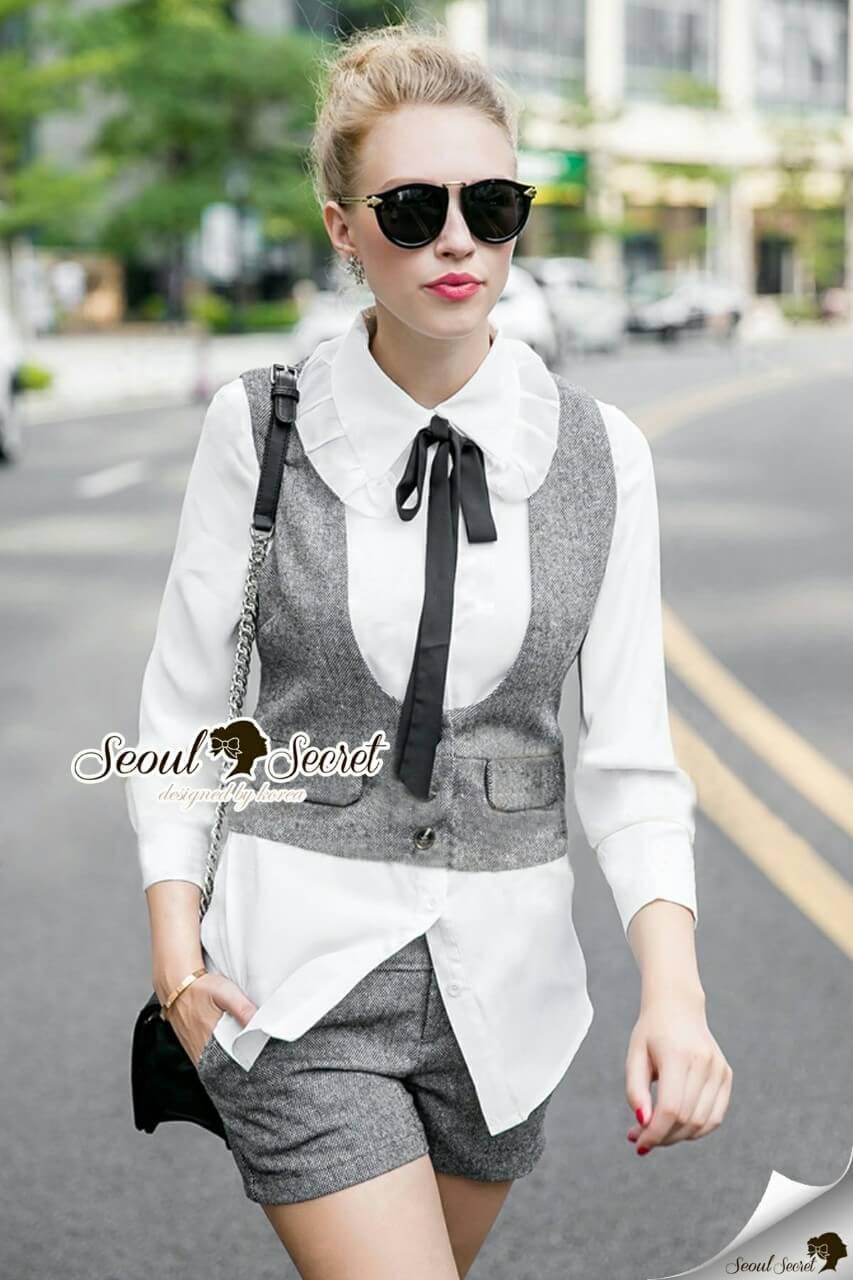Seoul Secret Say's... Chic Grayly Sandy Pattern Set