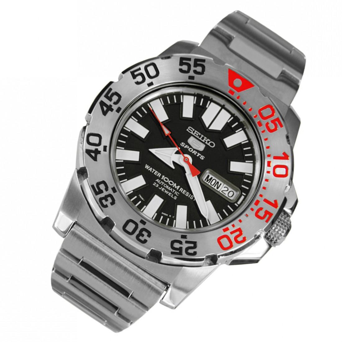 Seiko Automatic 5 Divers 23 Jewels SNZF47 SNZF47K1 SNZF47K Men's Watch