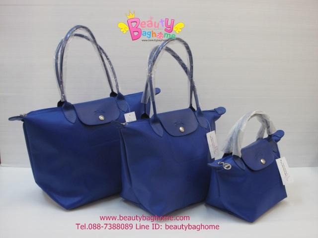 Longchamp Planetes สีน้ำเงิน มีSize S,M,L