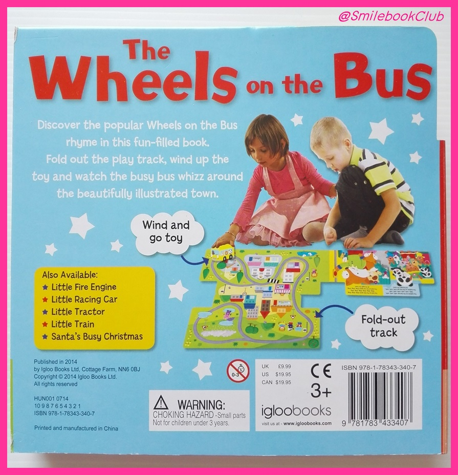 The Wheels on the Bus : Wind It Up (with FOLD-OUT PLAY TRACK)