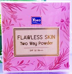 YOKO FLAWLESS SKIN TWO WAY POWDER SPF50 PA+++ (C1)