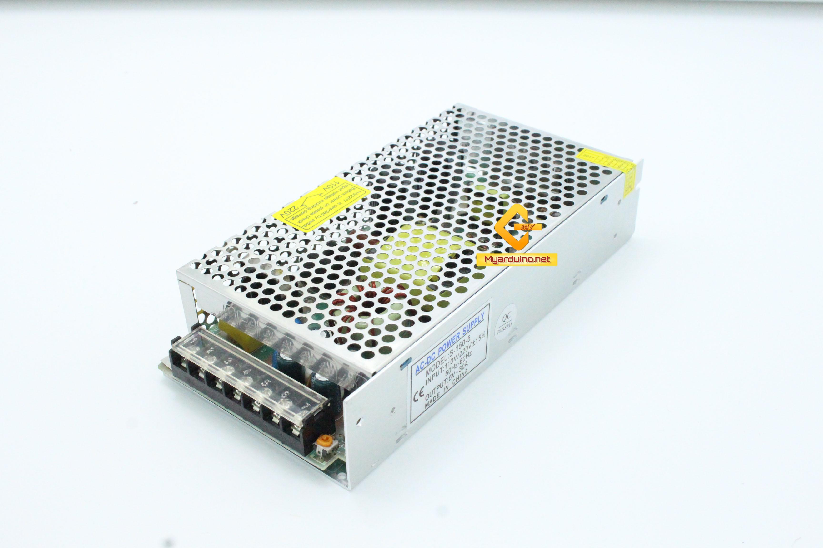 Switching Power supply แหล่งจ่ายไฟ 5V 30A
