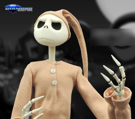 Nightmare Before Christmas - 16 Inch Coffin Doll: Jack Skellington (Pajama Ver.)(Pre-order)