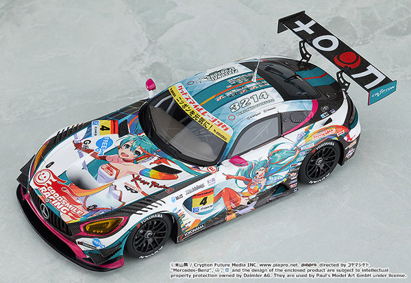 1/43 Hatsune Miku GT Project Good Smile Hatsune Miku AMG 2016 Season Opening Ver.(Pre-order)