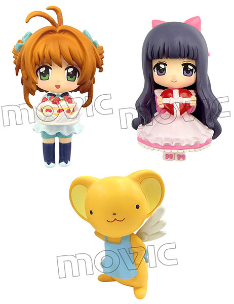 Color Colle DX - Cardcaptor Sakura Set of 3(Pre-order)
