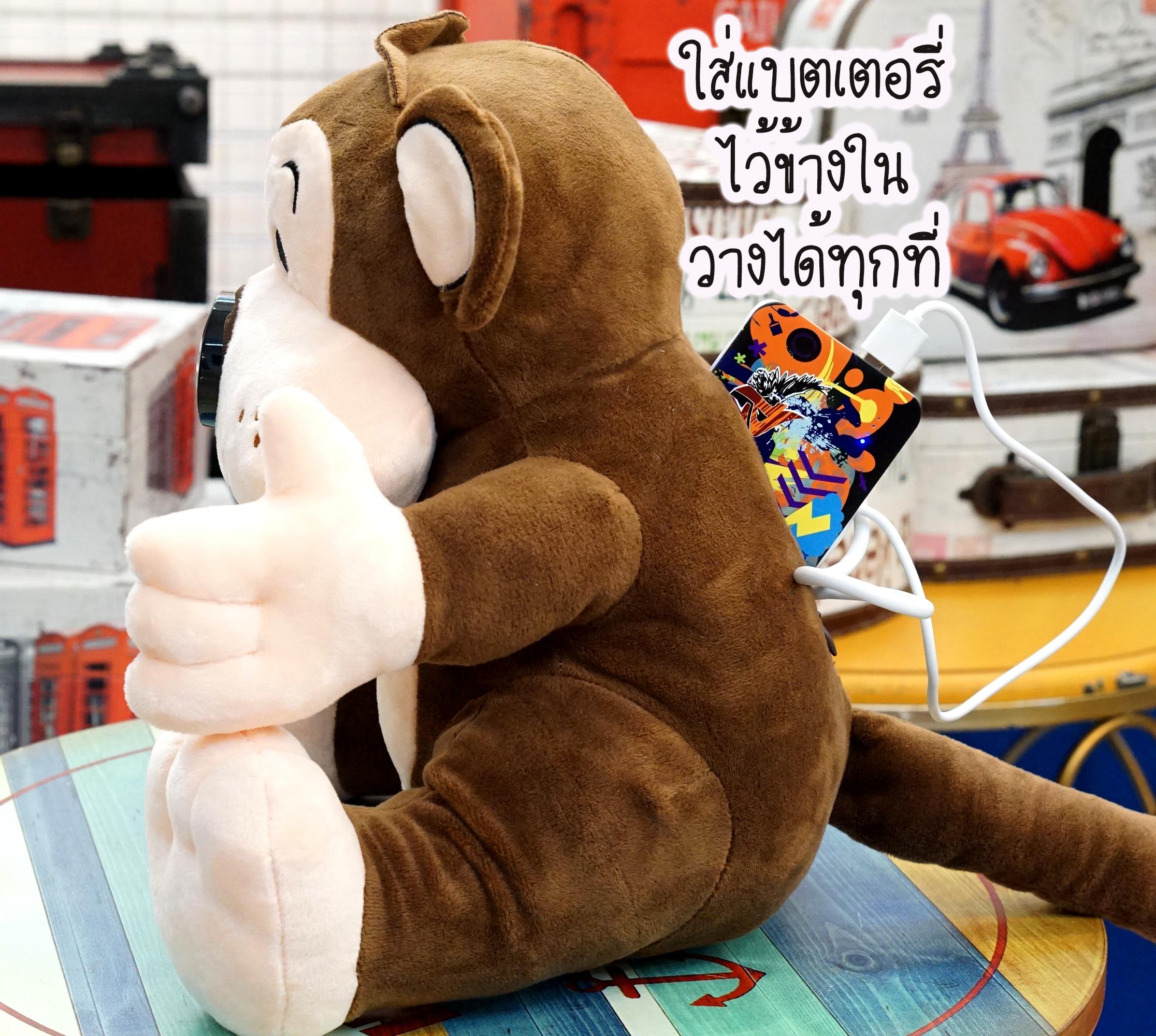 กล้อวงจรปิด-กล้องดูแลเด็ก-คิดถึงลูก-ตุ๊กตาลิง-1