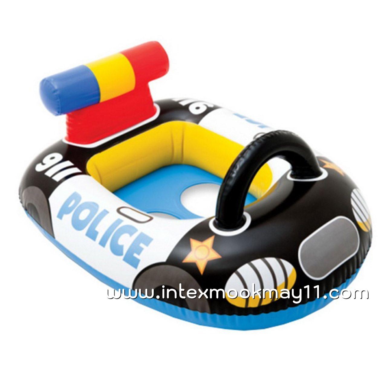 Intex Kiddie Car Float ห่วงยางสอดขาลายรถตำรวจ 59586